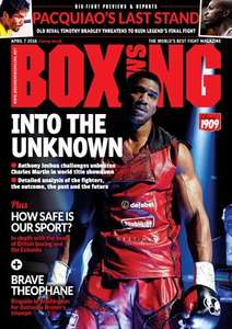 Free Boxing book with this week's Boxing News magazine £3 @ Morrison's