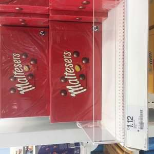 Boots instore Large 360g boxes of maltesers now