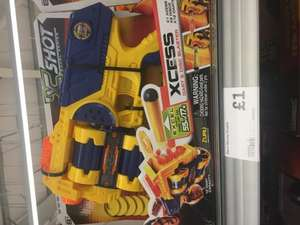 Excel Xcess Nerf style gun £1 @ Morrisons