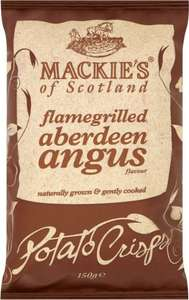 Mackie's of Scotland Potato Crisps (150g) Varieties as stocked ONLY £1.00 @ Asda