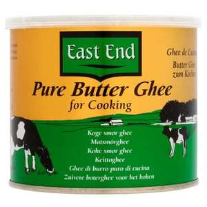 East End Pure Butter Ghee 500G £2.50 (was £3.85) @ Tesco