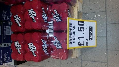 Dr Pepper 6x330ml - £1.50 instore @ Netto