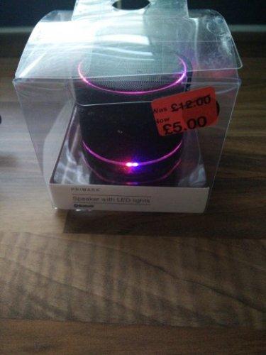 Primark Bluetooth speaker £5 @ Primark