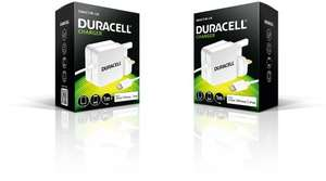 Duracell 1 metre 2.4 A MFI Lightning Charger for iPhone £6.95 Prime or £10.94 non prime @ Amazon