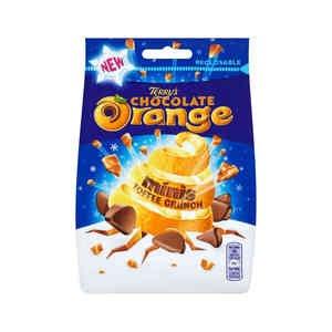 Terrys Chocolate Orange Toffee Crunch 125g bag 49p in Superdrug (free c&c)