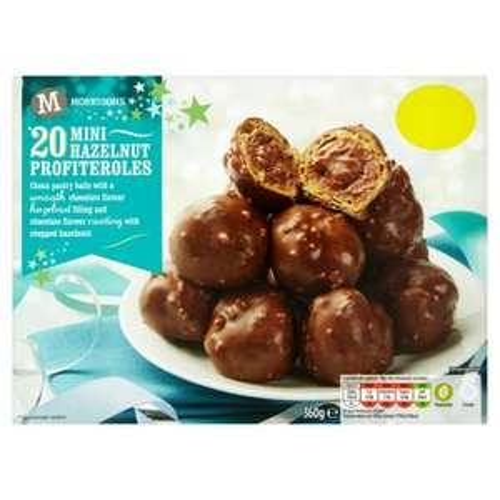 20 Hazelnut Profiteroles £1 @ Morrisons Instore