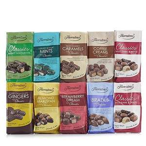 Thorntons chocolate bags  2 for £1.60 @ whsmith