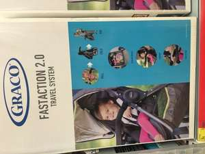 Graco Fast Action 2.0 Travel System in Sport Lime Only £75 @ Asda