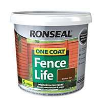 Ronseal One Coat Fence life 5L now £5 @ Homebase