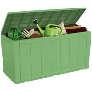 Keter Wood effect Plastic Storage Box - Argos - get paid 1p to take away 3 padlocks as well