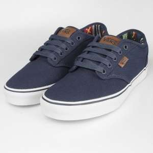 Vans Atwood Deluxe Trainers Navy from £15 + £3.99 p&p resole
