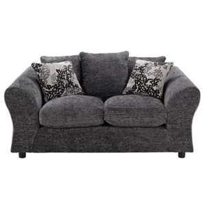 Clara Regular Fabric Sofa in Charcoal Was £499.99 each now Buy * 2 * for £346.44 del @ Argos (1 del for £215, other colours also)