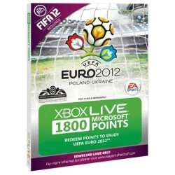 1800 XBOX Live Points Card @ gamescentre
