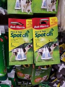 Bob Martin Flea and Tick Spot on for Large Dogs £1 in Poundland!!