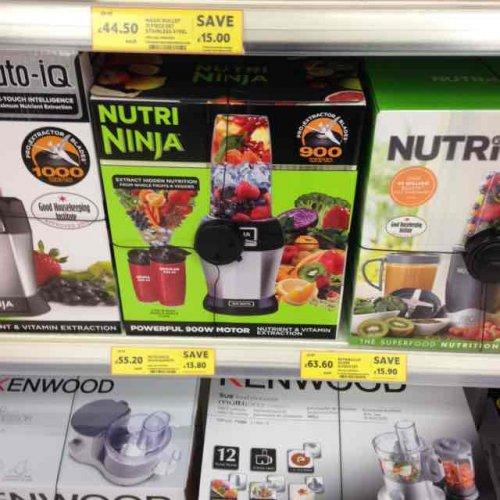 Nutri Ninja £55.20 @ Tesco - East Hunsbury