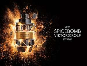 Viktor & Rolf Spicebomb Extreme  Eau De Parfum 90ml Spray - £53.32 with code (Amex Card Holders) £63.32 (Non Amex) Inc Next/Nominated Day Delivery @ The Fragrance Shop