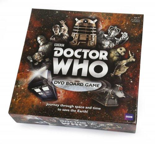 Doctor Who DVD Board Game £5.85 del Prime / £10.60 Non Prime @ Amazon