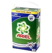 Ariel washing powder 140 washes 9.1 kg £16.99 farmfoods