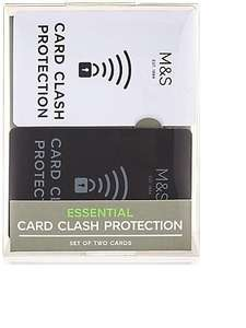 Card clash blocker £5 @ M&S Free C&C