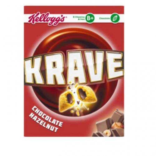 Kellogg's Krave Cereal 1KG! £3.00  Morrisons instore