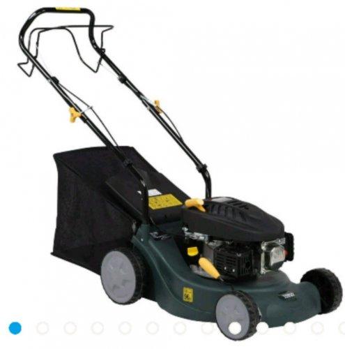 Tesco 98.5cc Self-propelled Petrol Rotary Lawn Mower from our Petrol Lawn Mowers range - £119 Tesco