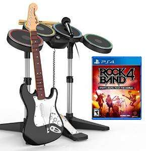 Rock Band 4 Band-In-A-Box Ps4 OR Xbox One Software Bundle £110 (RECENTY £200) @ Amazon