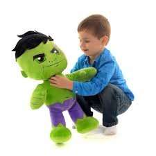 Marvel  chunky 20 inch Hulk/Spiderman plush £14.99 and free c&c @ Mothercare /ELC