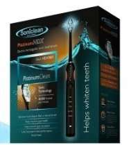 Soniclean Platinum HDX Electric Toothbrush RRP £99 Chemist4U £19.99 add a 29p item for free delivery- £20.28 Delivered