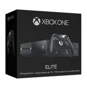 Xbox One Elite 1TB Bundle (1TB SSHD + Elite Controller) + Free additional Xbox ONE Controller £334.28 @ Amazon France (USE Code MANETTE)