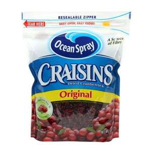 Ocean Spray Dried Cranberries 1,36kg £7.97 Delivered @ Amazon sold by Red White And Chew