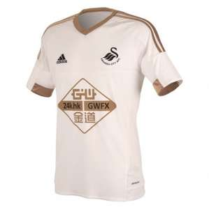 Swansea City home & away child's shirt £17.50 adults £22.50 @ Swansea Club Shop