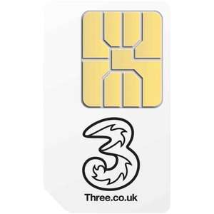 3 Sim only - £17 a month- 600 mins Ayce Data and Texts - 12 Month (retention)