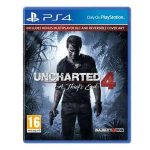 Uncharted 4, £38 after discount code @ Smyths toys