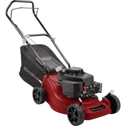Sovereign 150cc Push Petrol Rotary Lawn Mower - 40cm Homebase - £99.81