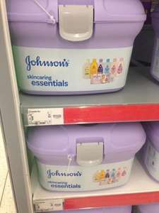 Johnson's baby Skincaring Essentials Box only £3 Asda