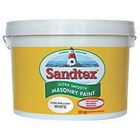 Sandtex masonry paint 10litres smooth or textured £24.99 @ Screwfix c&c only
