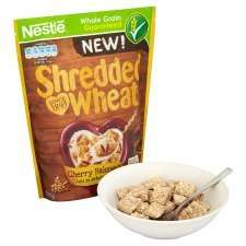 Nestle Shredded Wheat Cherry Bakewell 360G was £2.49 now £1.00 online and instore @ Tesco Groceries