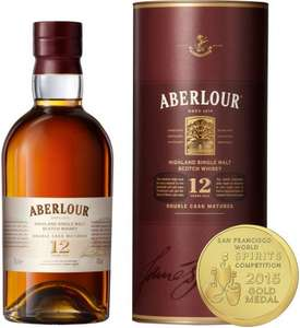 Aberlour 12 Year Old Single Malt Scotch Whisky 70cl, Amazon, £24.99