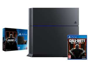 PS4 Black Console 500GB + Call of Duty Black Ops III 3 + NOW TV 3 Months Ent £269 @ Shopto / E-bay