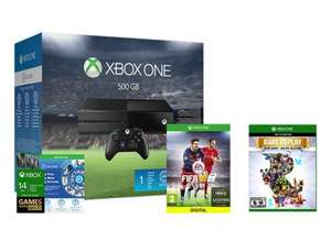 Xbox One 500GB Console + FIFA 16, Rare Replay & NOW TV Pass + 12 MONTHS EA Access £244 @ gamerscoveuk / Ebay