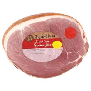 Morrisons Smoked / Unsmoked Gammon joints just £3 per kilo (Fresh)