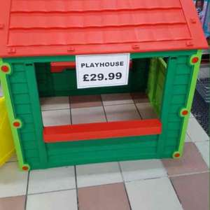 childrens play house £29.99 instore @ Latifs
