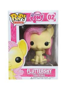 Funko Pop Vinyl my little pony Fluttershy & Rainbow Dash £7.00 instore @ Tesco