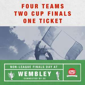 Non-League Finals Day at Wembley – kids just £1! (FA Vase Final & FA Trophy Final)