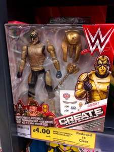 WWE Create a Superstar figures £4 (75% off) in store @ Tesco