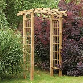 Forest Ryeford Garden Arch Webbsdirect £89.99 (plus £4.95 del)