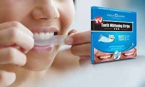 Pack of 28 Stella White Teeth Whitening Strips for £11.99 delivered @ Groupon (80% Off)
