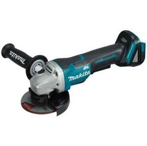 Makita DGA455Z 18V Brushless Angle Grinder Body Only @ Anglia Tool Centre for £99.96
