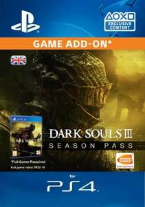 Dark Souls 3 Season Pass PS4/XB1 £16.99 Or £16:14 using 5% code (Download key) @ CDkeys