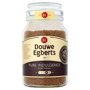 Douwe Egberts Pure Indulgence Dark Roast Instant Coffee (190g) was £6.57 ONLY £3.00 @ Morrisons